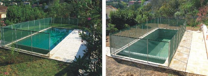 Beethoven Removable Pool Fence