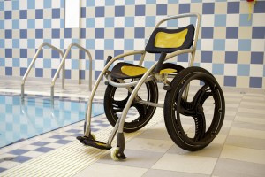 Submersible wheelchair